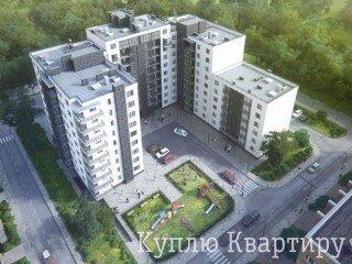 Продаж 1-кімнатної квартири вул. Роксоляни, Львів від забудвника