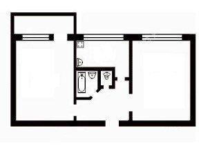Двокімнатна квартира в Вишгороді