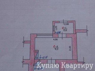 Продам дешевое жилье, 1 комн. квартира на земле, Красноселка