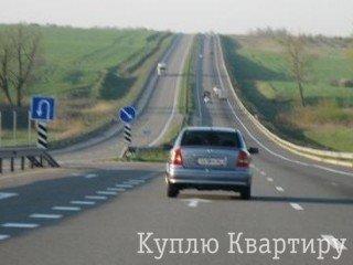 Фасадна ділянка траса Одеса - Київ, Клеверний мiст,  2,9 га