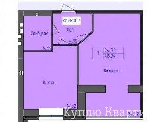 1 кімнатна, Центр, новобудова ЖК Преміум Парк