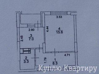 Продам 1-комн квартиру в новом доме по ул.С.Крушельницкой