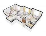 2-кімнатна квартира у Борисполі 60 м2 недорого