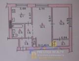 2-комнатная квартира, район Крэса, красная линия!