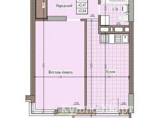 """1-кім квартира в ЖК """"Форест Хілл"""""""