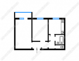 Двокімнатна квартира на Оболоні
