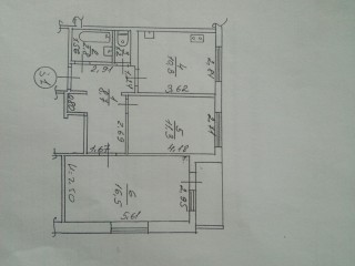 Продам 2х комнатну квартиру