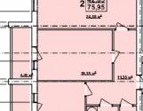 Продаю 2 кім. квартиру в новобудові ЖС-1 на Олексіївці.