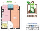 Продається 1кім квартира 40м2 в новобудові