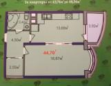 Початок продажу,пропоную 1 к.квартиру в новобудовi на Черемушках