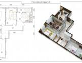 3 кімнатна квартира в будинку з паркінгом на Драгоманова