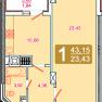 1 кімнатна Стрийська